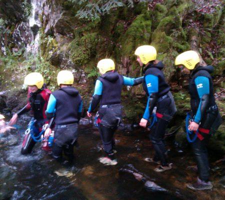 EDVF canyoning
