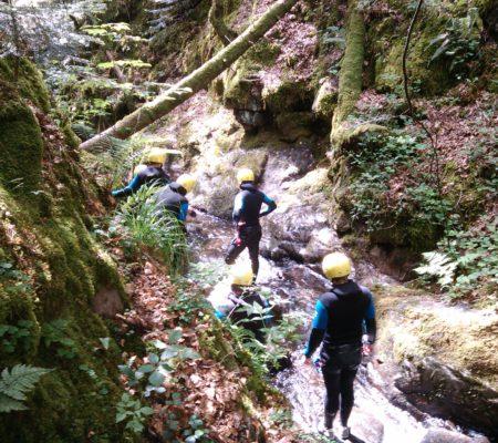 Descente du Canyon en Alsace